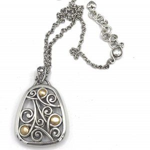 Brighton Reversible Pendant Necklace #116